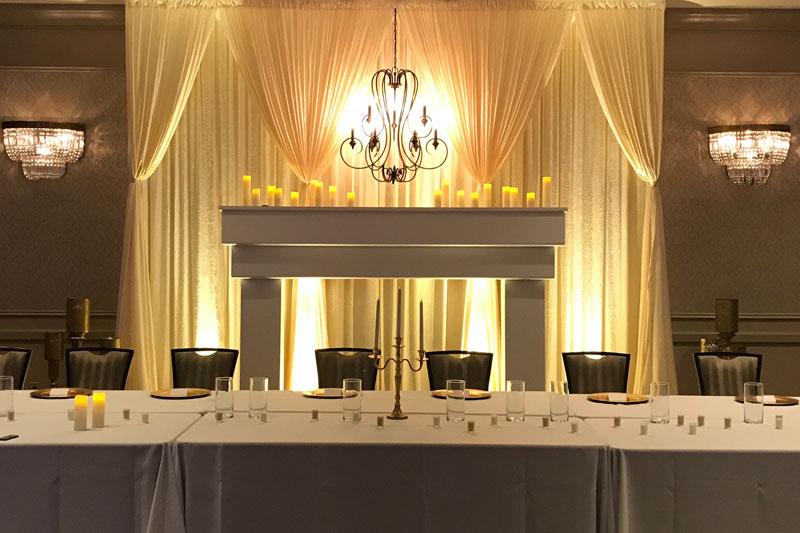Rental of Custom-built Arches / Faux Fireplace / Etc. Send us your Dream Design!
